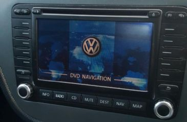 DVD MFD2 Seat Skoda Volkswagen Update Map europe 2019-2020 V17